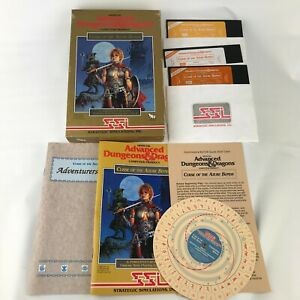 1989 TSR Curse Azure Bonds Advanced Dungeons & Dragons Commodore 64 Complete SSI