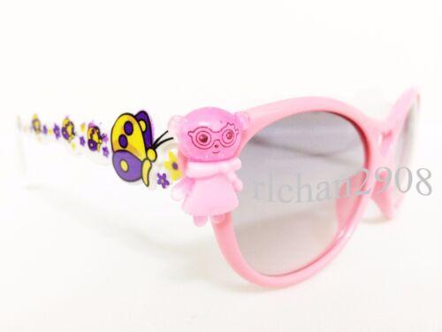N87 Kids//Children Lovely Bling Angel//Bear Butterfly Sunglasses