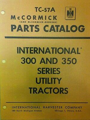 International 300 350 Utility Farm Tractor Diesel Gas IH