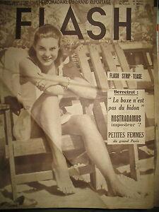 FLASH-N-30-GIRLS-ET-MANNEQUINS-2-NOSTRADAMUS-IMPOSTEUR-REPORTAGES-1950