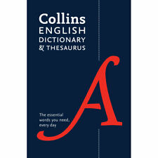 Collins English Dictionary and Thesaurus by Collins (Paperback), Books, New