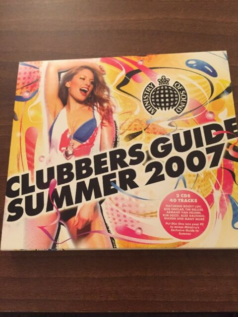 Ministry of sound clubber`s guide summer 2007 (2 x cd album.