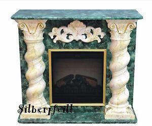 Kaminkonsole elektrokamin dekokamin kaminumbau marmor optik m bel deko 92 f129 ebay - Kaminumbau deko ...