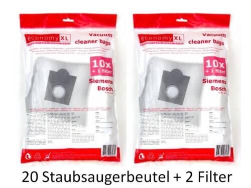 VS06G 2510 10-20 Staubsaugerbeutel für Siemens VS06G2510 wie Typ G