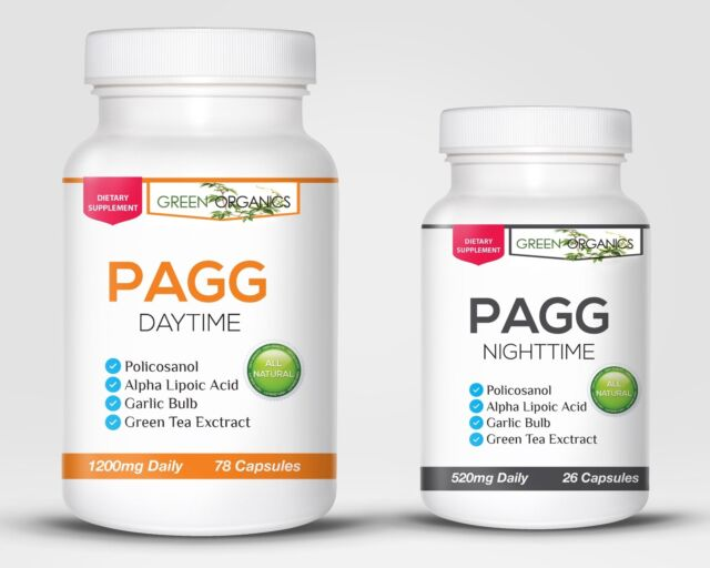Original PAGG Stack Supplement System by Tim Ferriss for weight loss and muscle