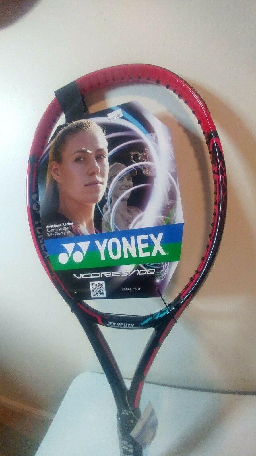 Yonex Vcore especial versión 100 (280g) Raqueta De Tenis Raqueta 4 3 8 de agarre Angelique Kerber