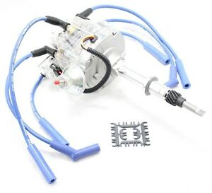 8MM PLUG WIRES Compatible with AMC JEEP 4.2L 258 232 6 CYL HEI DISTRIBUTOR BLUE Compatible
