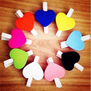 50-pcs-Mini-Hearts-Wooden-Pegs-Photo-Clips-Craft-Wedding-Party-Xmas-Decor