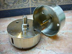 140mm-14-cm-Neu-THK-Diamant-Hohlbohrer-Fliesen-Marmor-Bohrkrone-LUXUE-K50