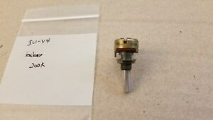 Technics SU-V4 integrated amplifier balance control potentiometer