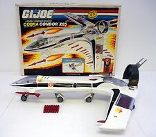 GI JOE COBRA CONDOR Z25 Vintage Action Figure Vehicle Jet COMPLETE w/BOX 1989