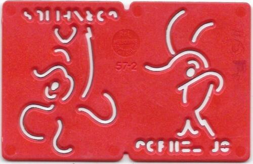 1960s Red 1970s Kelloggs Stencil CORNELIUS