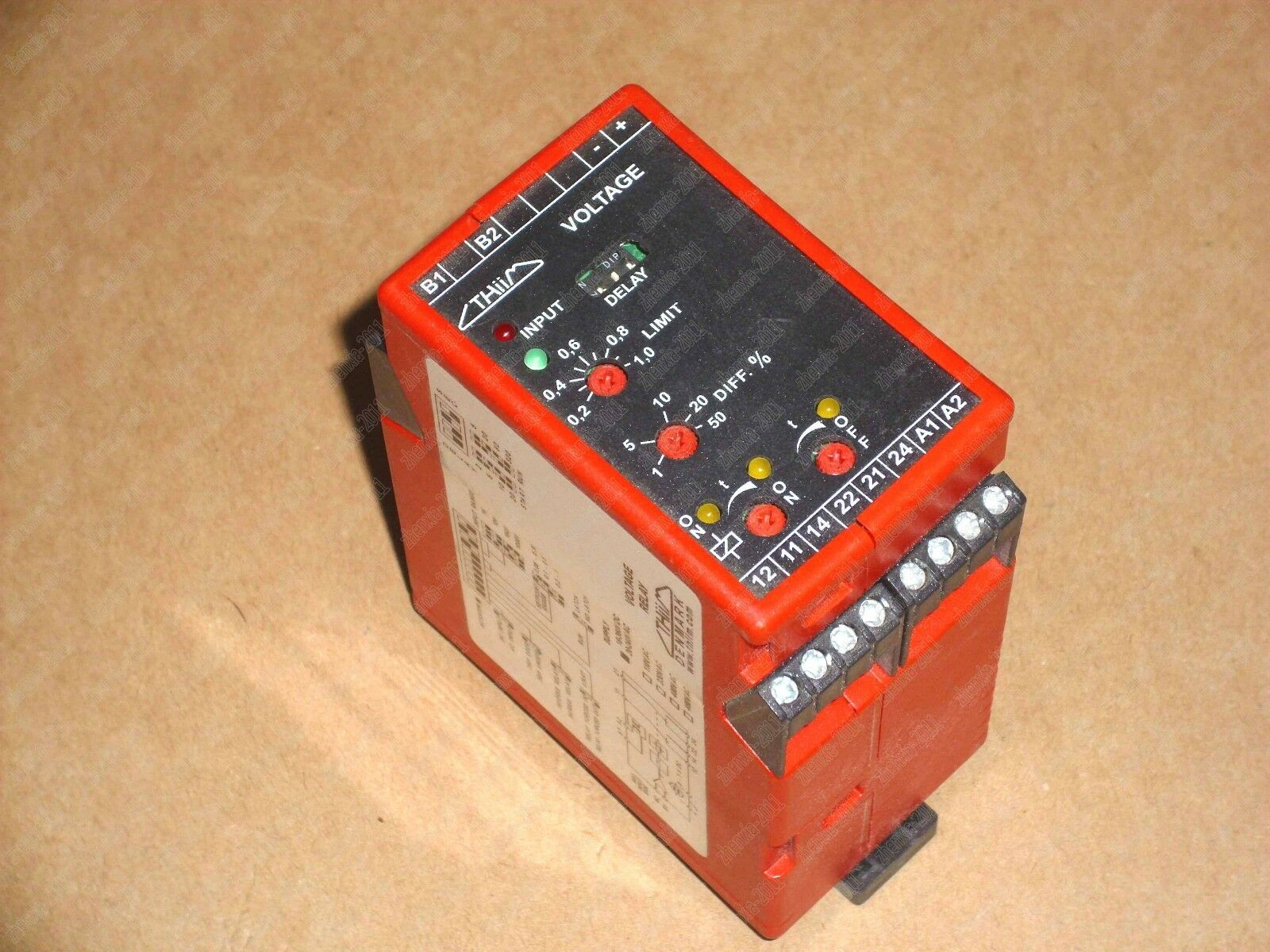 1PC new UMCAE400DA4C THIIM voltage relay 43554
