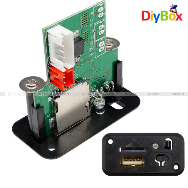 Mini MP3 Player Module 5V 7-12V with USB TF IR WAV MP3 Lossless Decoding Board