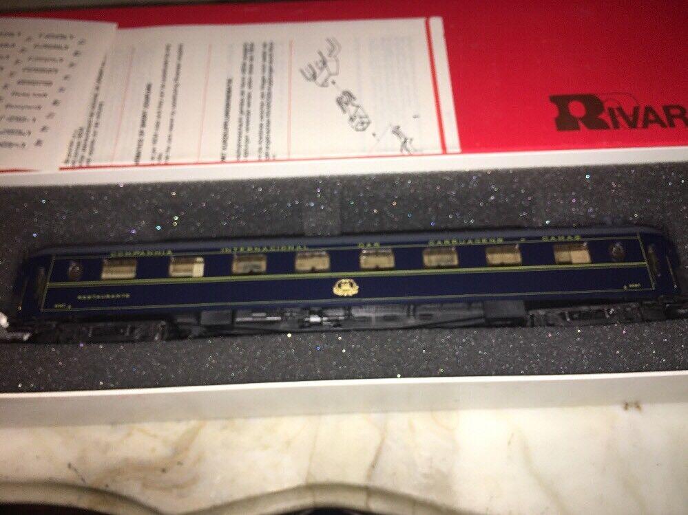 Rivarossi Ho 3534 Orient Express CIWL Ristorante Car No 4067 NOS