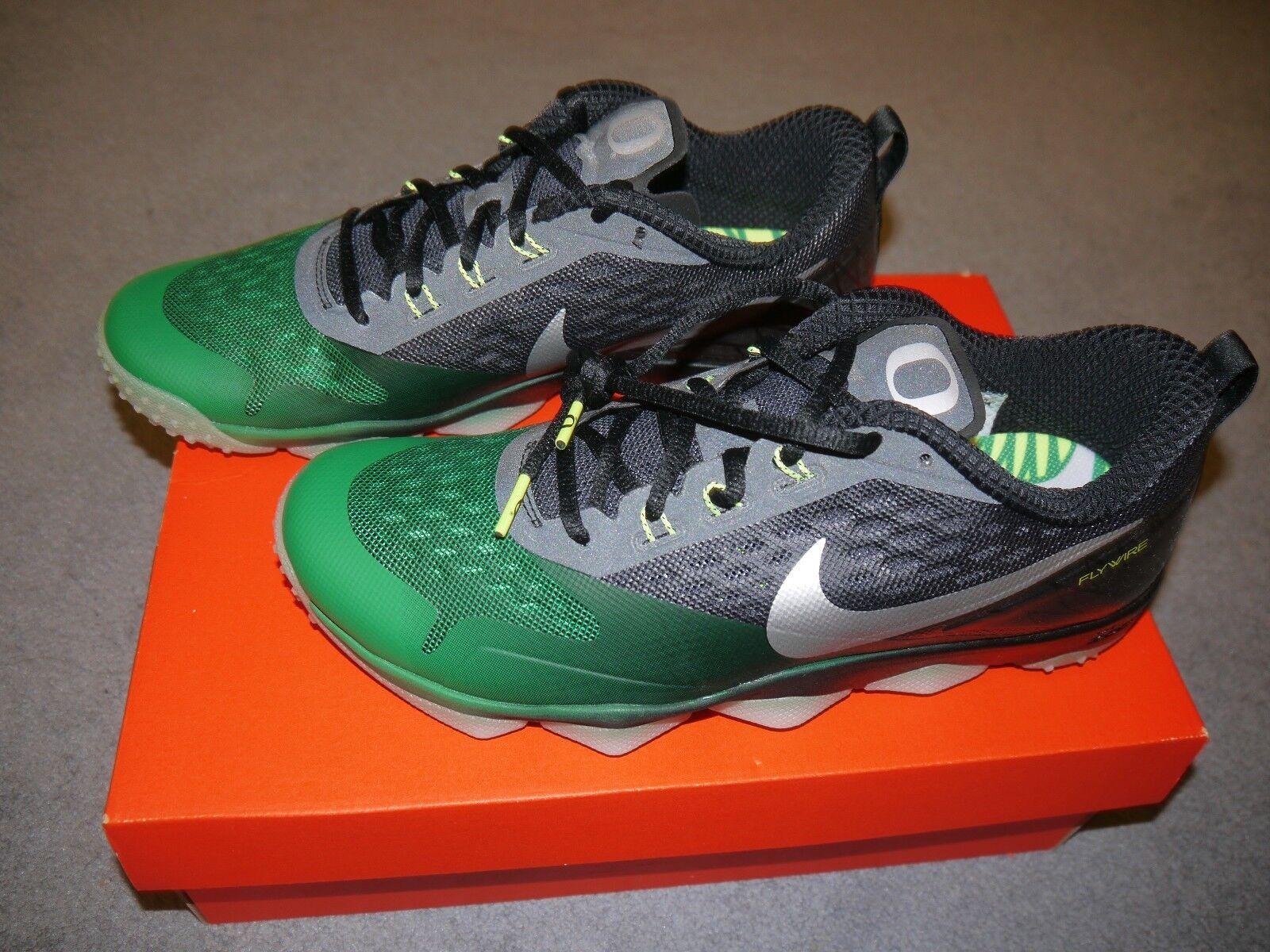 Nike Zoom Hypercross TR Oregon Ducks size 9