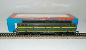 MARKLIN-H0-3066-loco-diesel-Belga-SNCB-BR-204-008-metallo-ottima-orig-box-039-80