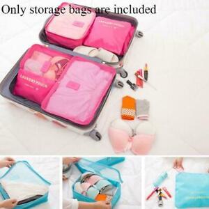 6-Stueck-Set-Gepaeck-Organizer-Koffer-Aufbewahrungsbeutel-Verpackung-Beste-Re-K7V8