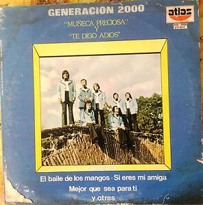Latin-Cuba-Puerto-Rico-034-Generacion-2000-034-034-Muneca-Preciosa-034-034-Rare-LP-034