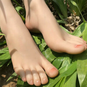 One-Left-Or-Right-Lifelike-Female-vein-Feet-Shoes-Displays-Foot-Model-Mannequin