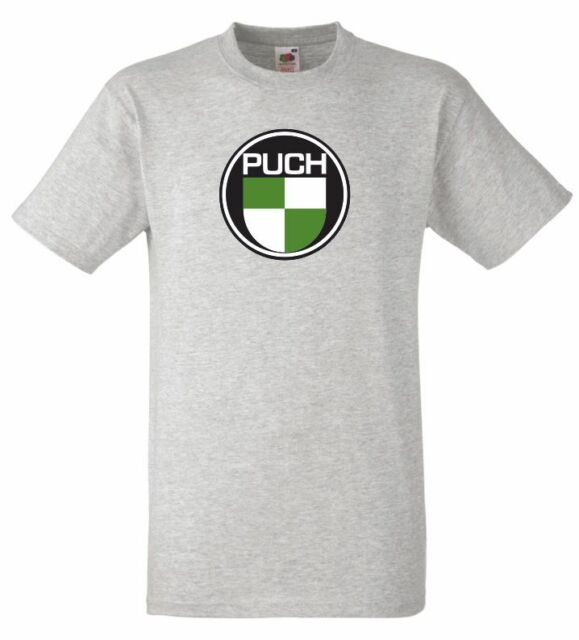 Puch Moped/Scooter Style Motorcycle Printed T Shirt in 6 Sizes