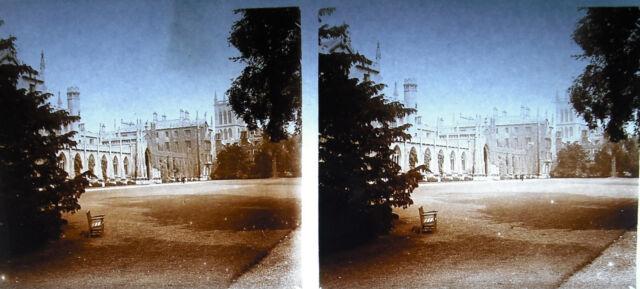 hotographie St Di John College Vista from the Park Cambridge cent. 20 fotografia