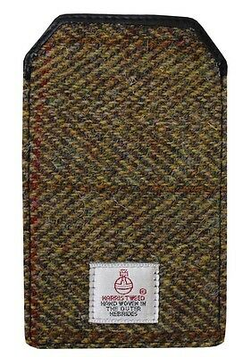 Unparteiisch Authentic Harris Tweed Iphone 5 Case - Traditional Green Hc029 Hell In Farbe