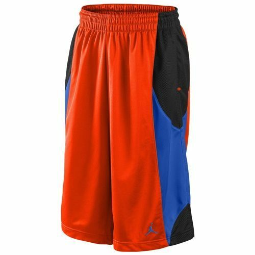 d13dd2ba32a5d5 Nike Air Jordan Durasheen Basketball Shorts Team Orange Men s Large 2xl  Large for sale online