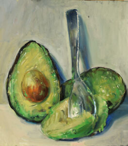 """Avocado and Spoon"" by Duane Keiser"