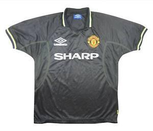 Manchester-United-1998-99-Authentic-TERZO-Camicia-eccellente-M-SOCCER-JERSEY