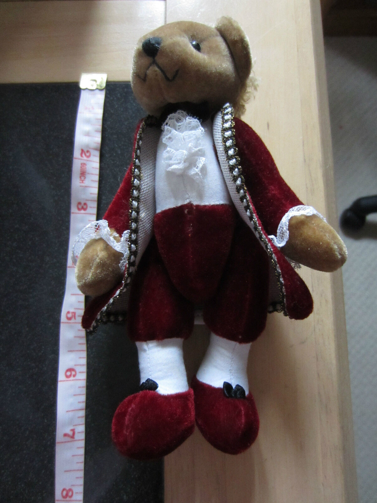 MOZART BEAR bought from MOZART BIRTHPLACE museum in SALZBURG, AUSTRIA