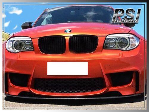 DP Style Carbon Fiber Front Bumper Add-On Lip for BMW E82 E88 M-Tech 128i 135i