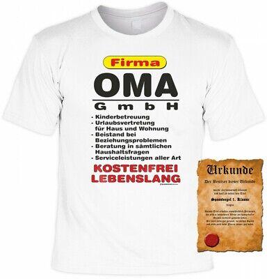 Geburtstag Muttertag Fun Shirts Geschenk bedruckt Firma Mama GmbH T-Shirt
