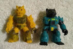 2-034-Battle-Beasts-Action-Figure-Lot-Mattel-1987
