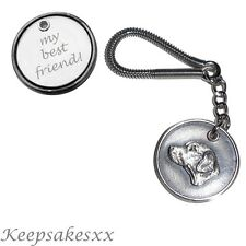 Rhodesian Ridgeback Dog Tag UK Disc KEYRING incls Personalised Engraving