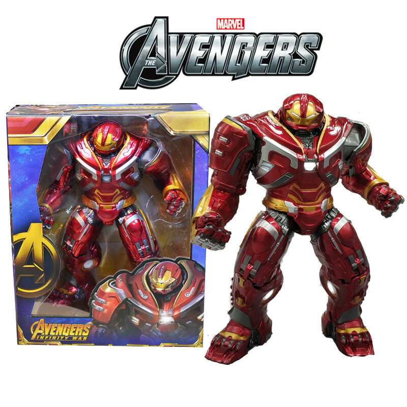 Marvel Avengers Infinity War Hulkbuster Mark 2.0 LED Action Figure Model Statue