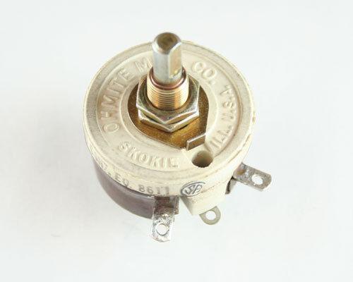 1x 75 Ohm 25W Rheostat Wirewound Resistor Potentiometer 25 Watt 75ohm Ohms