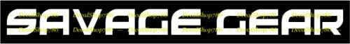 SAVAGE GEAR-Outdoors Sports//Pêche-Vinyl Die-Cut Peel N /'Stick decals
