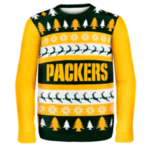 pretty nice d30b0 86873 Details about GREEN BAY PACKERS SWEATER NFL UGLY SWEATER Football 2XL  PERFECT GIFT!