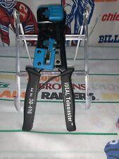 Ideal 30 496 Telemaster Crimper Rj11 12 14 45 Cut Strip Crimp