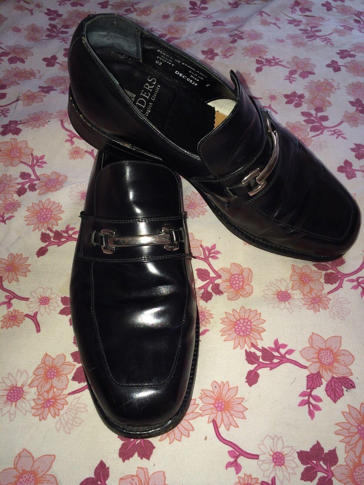Sanders Genuine Leder Modern Modern Leder English Classics Schuhe Uk 7, Eu 41 02c4a2