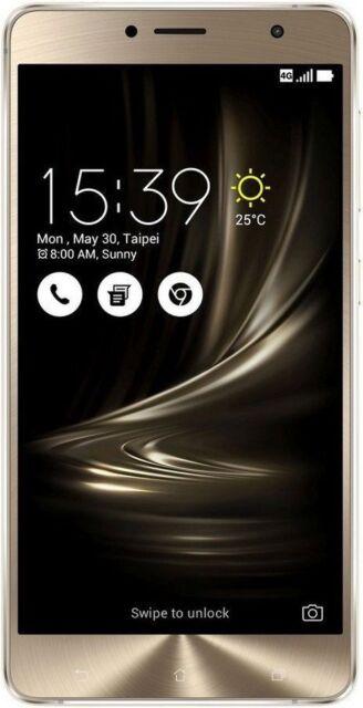 ASUS Zenfone 3 Deluxe (ZS550KL) glacier silber NEU OVP incl. Rechnung