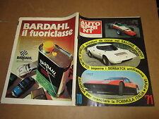 RIVISTA AUTO SPRINT ANNO XI N°44 NOVEMBRE 1971B.B.FERRARI STRATOS BERTONE
