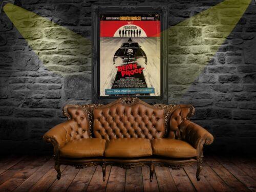 Grindhouse 2007 Movie Poster Print A0-A1-A2-A3-A4-A5-A6-MAXI CL66