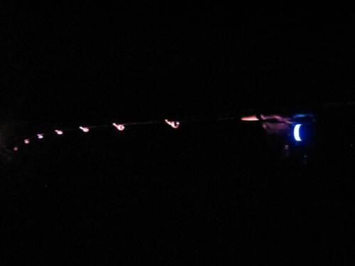 3 x Angel lumiere éclairage rodpodbeleuchtung Ressac Pêcher Zander Carpes