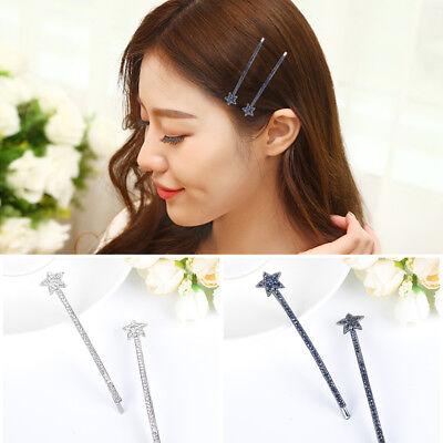 Femmes élégantes cristal cheveux clip strass pince à épingle griffe coiffu/_ft
