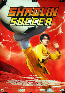 Martial Arts Stephen Chow Shaolin Soccer Poster Ebay