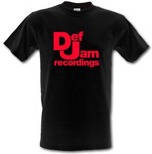 DEF JAM RECORDINGS Hip Hop Rap Urban Gildan Heavy Cotton T-shirt ALL SIZES