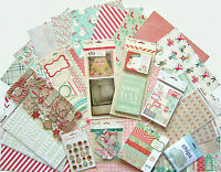 Crate Paper [ Bundled Up] 12 X 12 Paper & Embellishments (set C) Save 60%