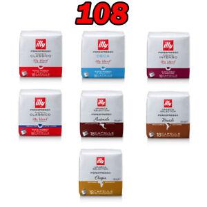 ILLY-108-CAPSULE-6-CONFEZIONI-DI-CAFFE-039-IPERESPRESSO-A-SCELTA